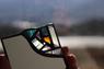 アンティークガラス手鏡